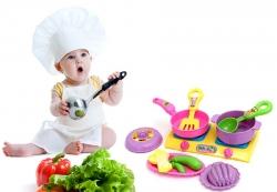 Đồ chơi trẻ em nấu ăn