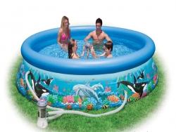 Kinh nghiệm chọn mua bể bơi mini cho trẻ