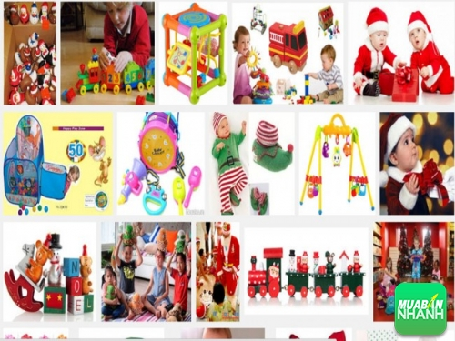 Nên chọn đồ chơi cho trẻ ngày giáng sinh phù hợp với độ tuổi của trẻ