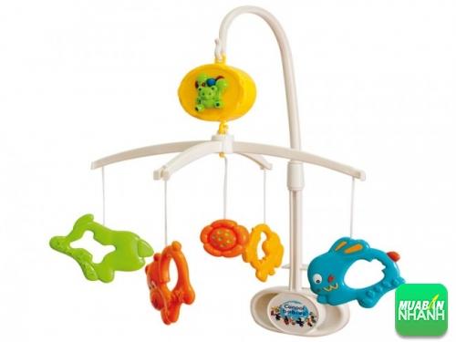 Đồ chơi treo cũi sẽ giúp sẽ giúp kích thích thị giác cho bé