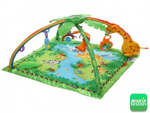 Thảm chơi nhiều màu sắc giúp bé phát triển tư duy