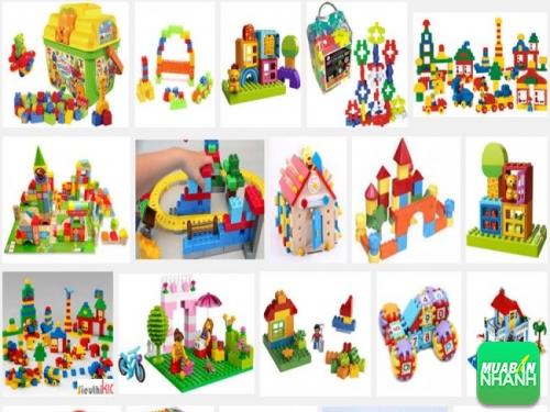 Đồ chơi lắp ráp, mô hình mang đến rất nhiều lợi ích cho bé