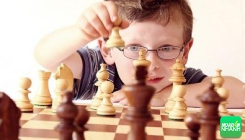 Cho bé tiểu học chơi cờ chính là phương pháp hỗ trợ trí não của bé phát triển tư duy nhạy bén