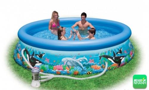 Kinh nghiệm chọn bể bơi phao cho bé