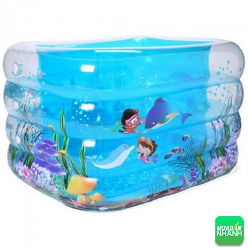 Bể bơi mini dễ dàng sử dụng, tiện lợi