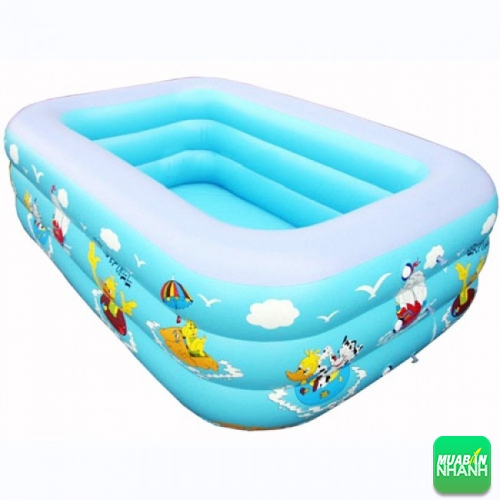 Bể bơi mini cho trẻ vô cùng tiện dụng