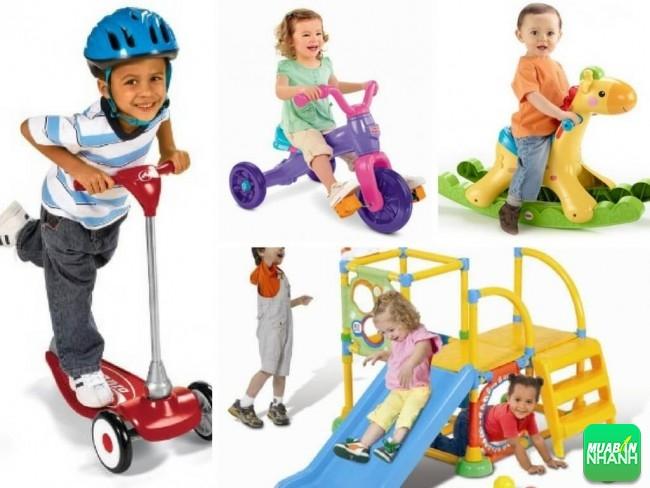 Gợi ý quà tặng 1/6 đồ chơi trẻ em vận động thể chất