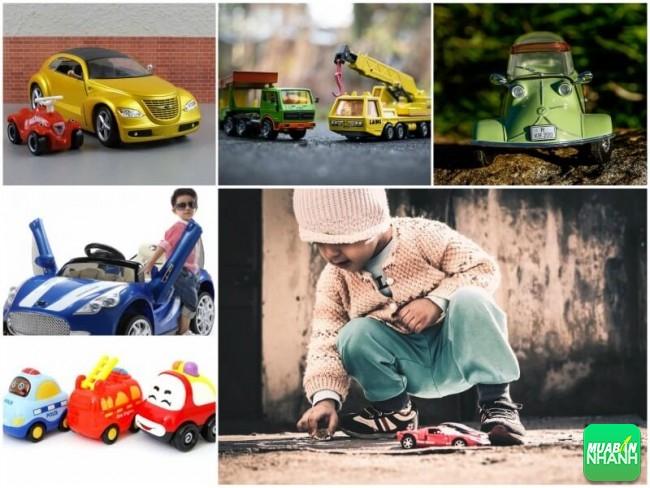 Tại sao nên mua ôtô đồ chơi làm quà 1/6 cho bé?